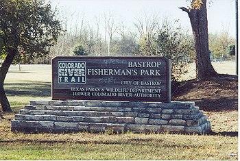 Bastrop Fisherman's Park, Bastrop, Texas