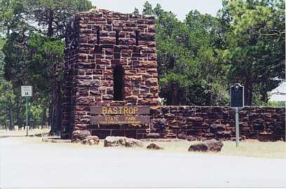 Entrance To Bastrop State Park